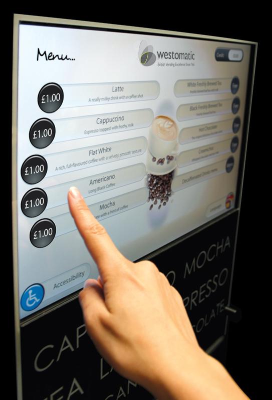touch screen vending machine manufacturers