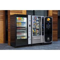Operated vending machines