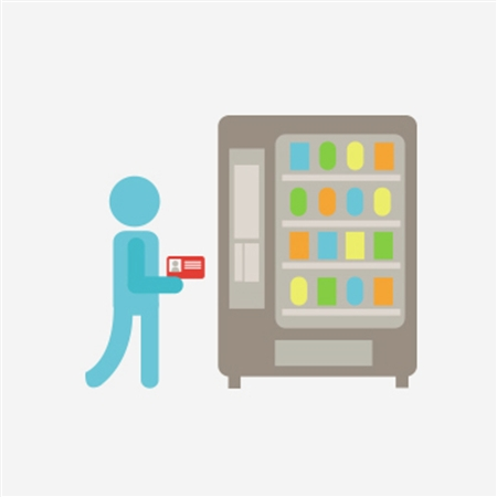 Vending Machine Illustration