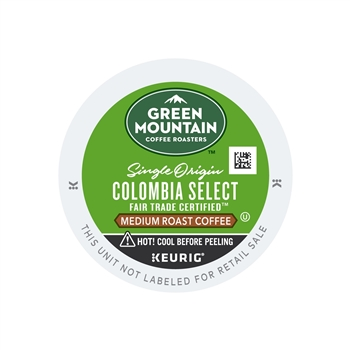Keurig Green Mountain Colombian Fair Trade Select K Cup Pod