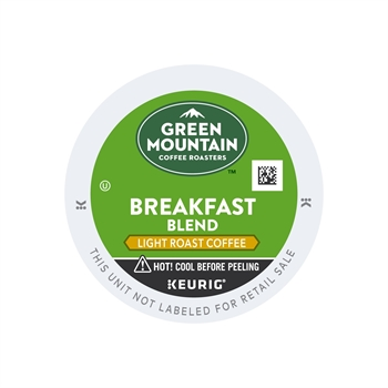 Keurig Green Mountain Breakfast Blend K Cup Pod