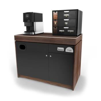 Flavia Creation 500 Office Coffee Machine Base Cabinet Left Zoom