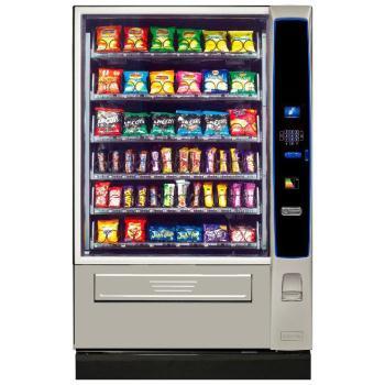 Crane Merchant Media 6 Snack Vending Machine