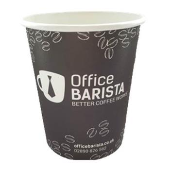 12oz Disposable paper Office Barista paper Cup